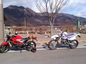 上田川と道の駅