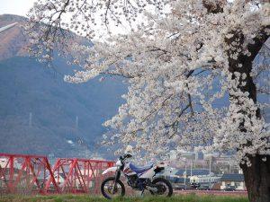 上田市別所線赤い鉄橋
