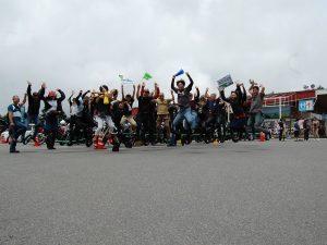 霧の駅バイクミーティング