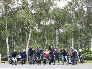 八千穂高原日本一の白樺林
