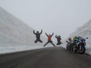 志賀草津ルート雪の壁